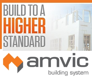 "Visit amvic official website for more information about ICF ""Insulated Concrete Form"" construction."