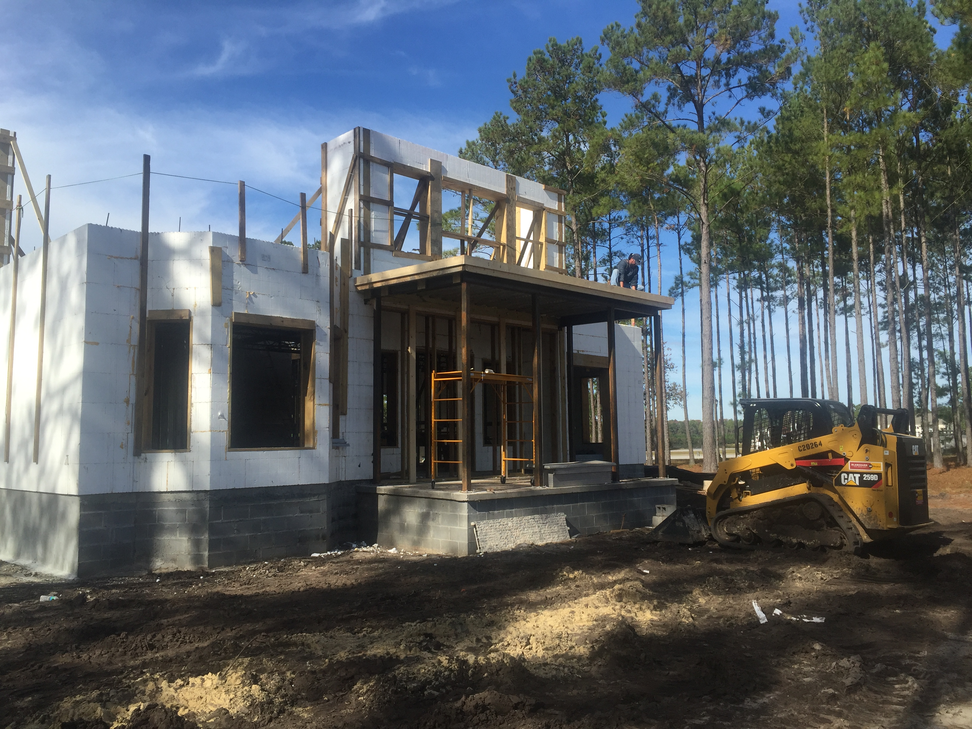 Porches Buildgreen Industries New Home Construction